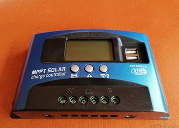 Solarny regulator nabijania