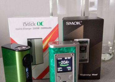 Vape mod SMOK + mod ELEAF + 2l baza - vsetko spolu za 60€