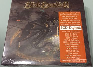 BLIND GUARDIAN - Live Beyond The spheres 3CD