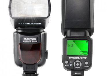 Externý blesk ZOMEI ZM430 pre DSLR Canon / Nikon NOVÝ