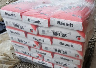 Baumit MPI 25..3,70€ za kus(40kg)