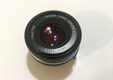 Nikon e-series 50mm/1,8 pancake