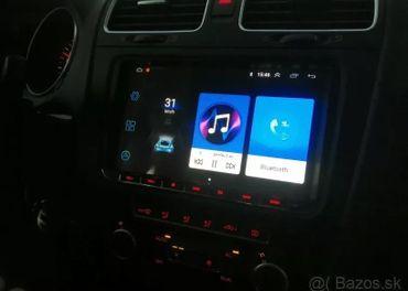 Android 9 autoradio pre vw s wifi,rds,bt,wifi,gps