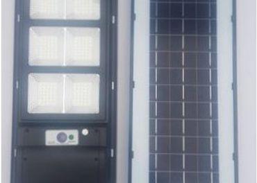 Solarna LED lampa 240W / 90W s diaľkovým ovládaním