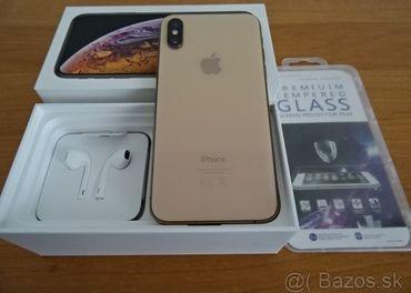 GOLD APPLE IPHONE XS 64GB - VELMI DOBRY STAV
