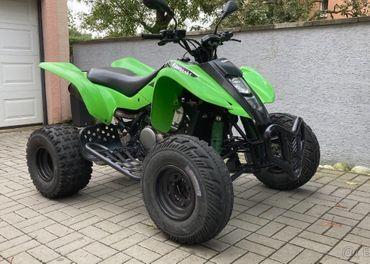 Kawasaki KFX400 / TP + Biele SPZ