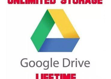 Neobmedzené úložisko Google Drive DOŽIVOTNÉ