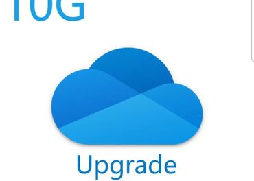 10gb OneDrive Microsoft Cloud