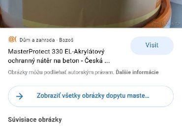 Master protect 330 el farba