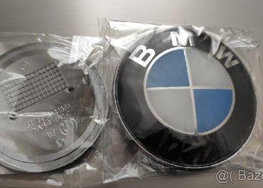 Znak kapota kufor volant kolesa elektrony BMW