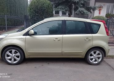 Nissan Note 1.6 16V benz. AUTOMAT 81kw rv.8.2009