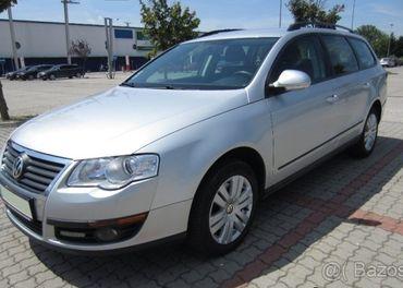 Rozpredam Volkswagen Passat B6 1,9 tdi 77kw farba LA7W,
