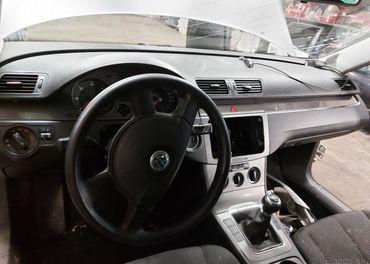 Palubna doska Volkswagen Passat B6 pasy, airbag, komplet,