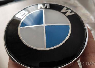 Nové BMW krytky na kolesa emblem znak kufor kapota volant