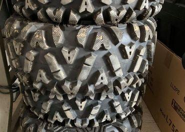 Predám sadu pneumatík na štvorkolku