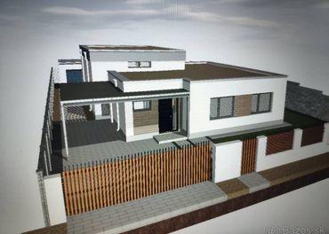 Predaj 4-izbový rodinný dom, novostavba, Hrubá Borša