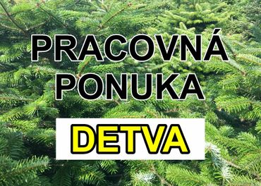 PREDAVAČ vianočných stromčekov DETVA