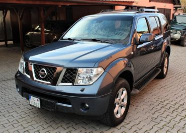 Nissan Pathfinder 2.5 DCI 4x4 174ps