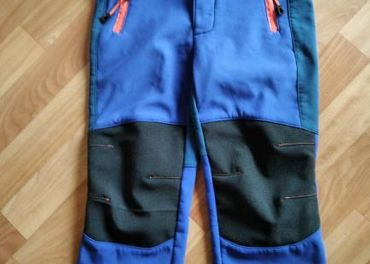 Softshelové nohavice