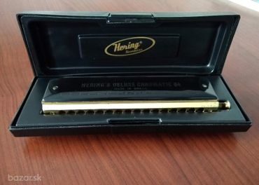Hering 6264 Deluxe Chromatic 64 Gold Mouthpiece