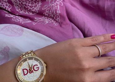 Dolce & Gabanna hodinky zlate