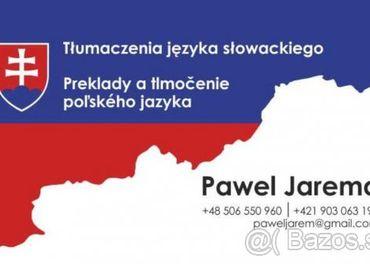 Preklady a tlmočenie z/do poľského jazyka. Poľský jazyk.