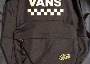 VANS ruksak tmavo-modrý