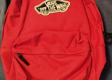VANS ružový ruksak 22L