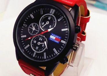 hodinky Tommy Hilfiger červené