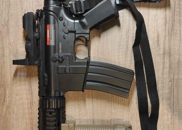 M4 RIS CQB S TLMIČOM (CM.513)