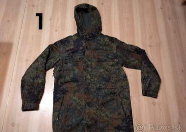 BW flecktarn kabát