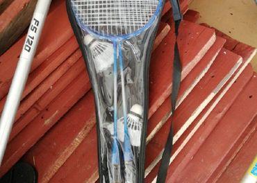 badminton + 2 košíky