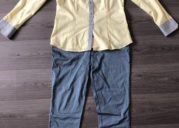 Dámska košeľa+ elegantné nohavice