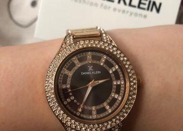 Dámske hodinky Daniel Klein rosegold