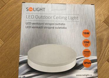 Svietidlo LED IP44 (Kúpelňa, exteriér)