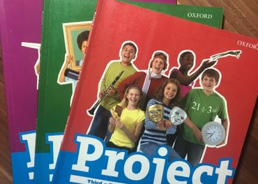 Project Students book 1,2,3,4