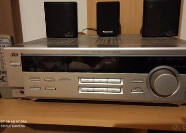 Predám Receiver JVC RX-6012R s 5.1 zostavou Magnat