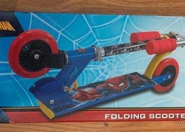 Predám kolobežku- odrážadlo Spiderman