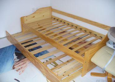 Masiv posteľ ....2xspanie za 50.-