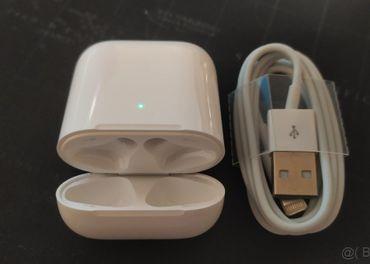 Púzdro pre Apple Airpods 1,2 s podporou QI nabijania
