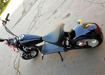 Elektrická Harley Chopper motorka bez VP