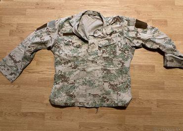 Predám poľnú uniformu vz2007 digi púšť