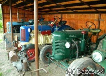 Starý traktor historický traktor