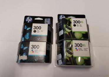 náplne HP 300 a 300XL