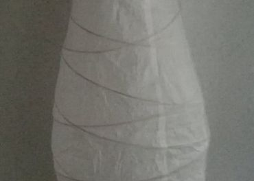 IKEA. Biela stojacia lampa. Latkova