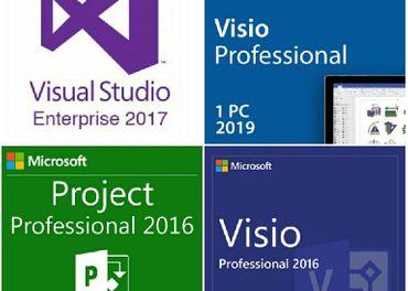 kľúč PROJECT 2016,VISIO 2016 2019,VISUAL STUDIO 2017