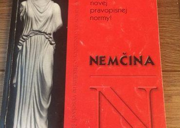 Nemcina knihy + vreckovy slovnik