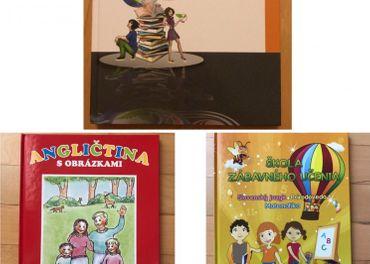 Knihy pre školákov (Lexikón, Ang, Sjl, Mat, Prírodoveda)