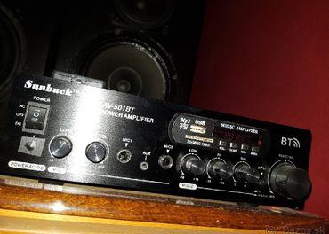 Stereo zoailovač ..novy