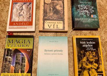 Knihy o bytostiach prírody, anjeli, víly,...